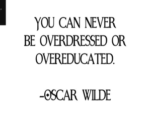 oscar wilde, vintage, and quote image