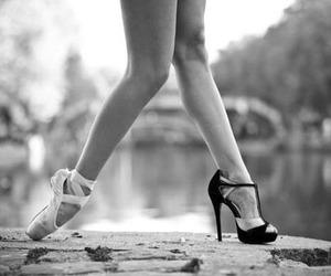 ballet, dance, and heels image