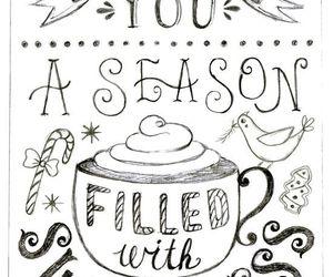 handlettering, holidays, and illustration image