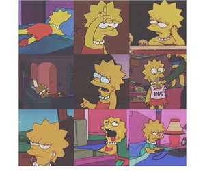 lisa, lisa simpson, and simpsons image