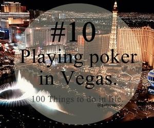 poker, 10, and vegas image