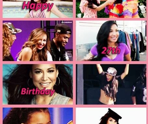 Collage, glee, and happy birthday image