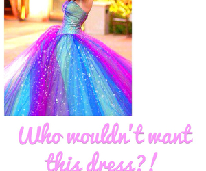 dress, pretty, and want image