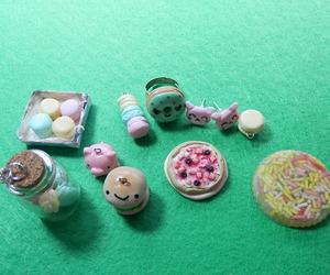 charms, kawaii, and clay image