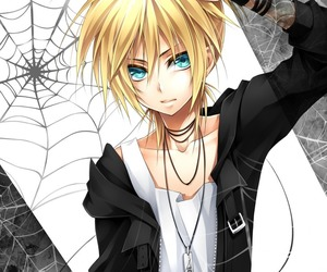 vocaloid, boy, and kagamine image