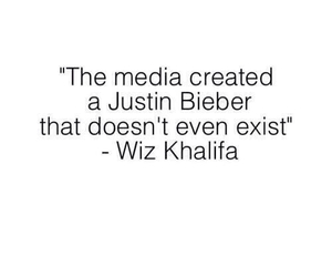 justin bieber, wiz khalifa, and quote image