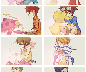 tumblr, digimon, and digimon adventure image