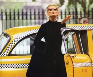 taxi, kiss, and style image