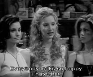 friends, happy, and quote image