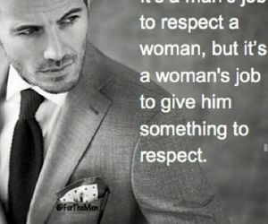 respect, man, and women image
