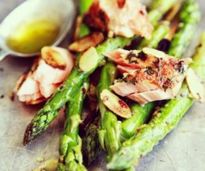 food, asparagus, and healthy image