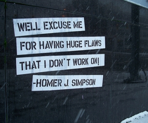 quote, homer simpson, and simpsons image