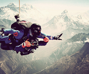Dream and skydive image