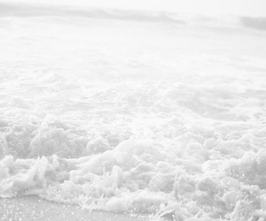 beach, sea, and water image