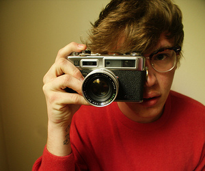 camera, guy, and cute image