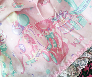 angelic pretty, pink, and baby blue image