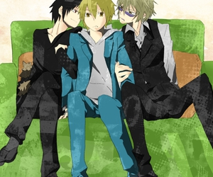 anime, yaoi, and izaya orihara image