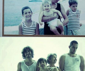 family and boy image