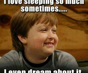 bed, dreams, and sleeping image