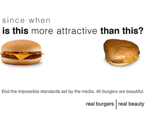 funny, burger, and beauty image