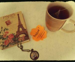 bonjour, book, and paris image