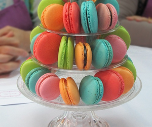 colors, macaroons, and Cookies image