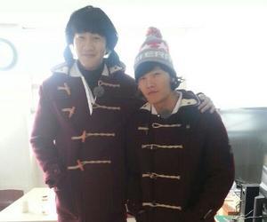 running man and kim jong kook image