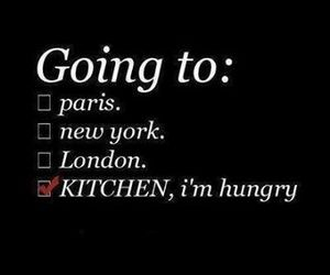 hungry, paris, and london image