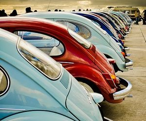 car, beetle, and vintage image