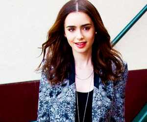 lily collins, pretty, and style image