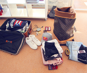 clothing, packing, and shoes image
