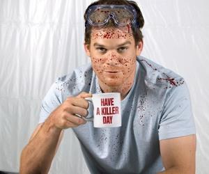 Dexter, blood, and killer image