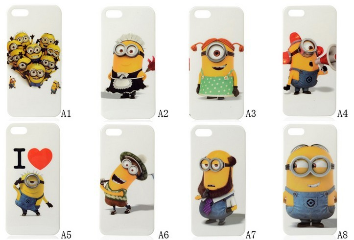 release date cf687 6d780 Despicable Me 2 Minions Cartoon TPU Case Skin Cover for iPhone 5 5S ...