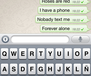 chat, me, and forever alone image