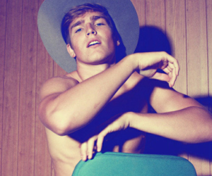 blonde, boy, and cowboy image