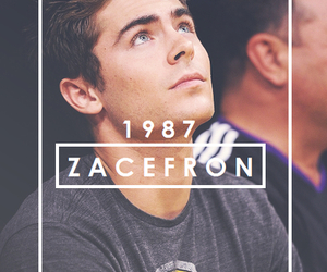 zac efron, love, and 1987 image