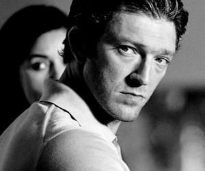 black and white, couple, and monica bellucci image