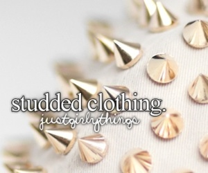 fashion and studded clothing image