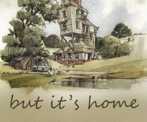 harry potter, home, and weasley image