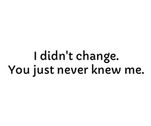 change, quote, and me image