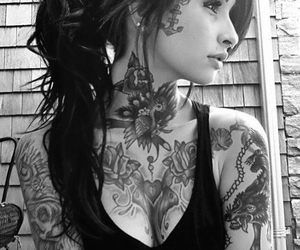 dope, trill, and face tattoo image