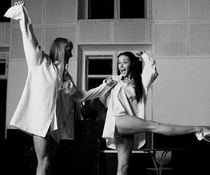 best friends, dance, and classic image
