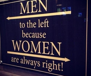 woman, men, and Right image