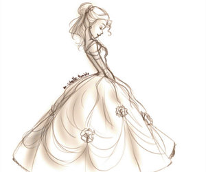 belle, fashion, and girl image