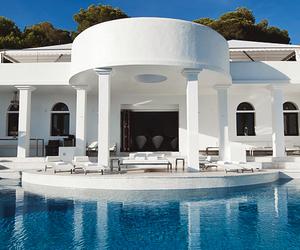 luxury, nice, and swimming pool image