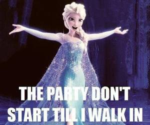 frozen, elsa, and party image
