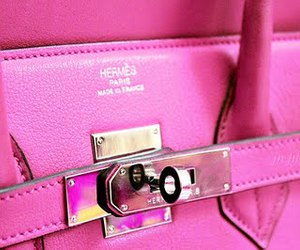 hermes, pink, and fashion image