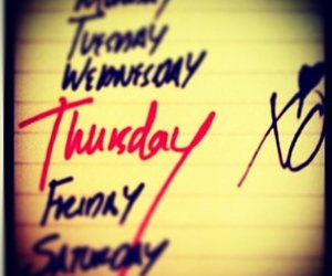 thursday, xo, and the weeknd image