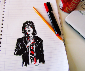 art, gerard way, and my chemical romance image
