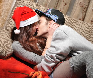 couple, sweet, and hat image